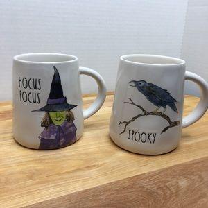 Rae Dunn Hocus Pocus Spooky Halloween mugs cups